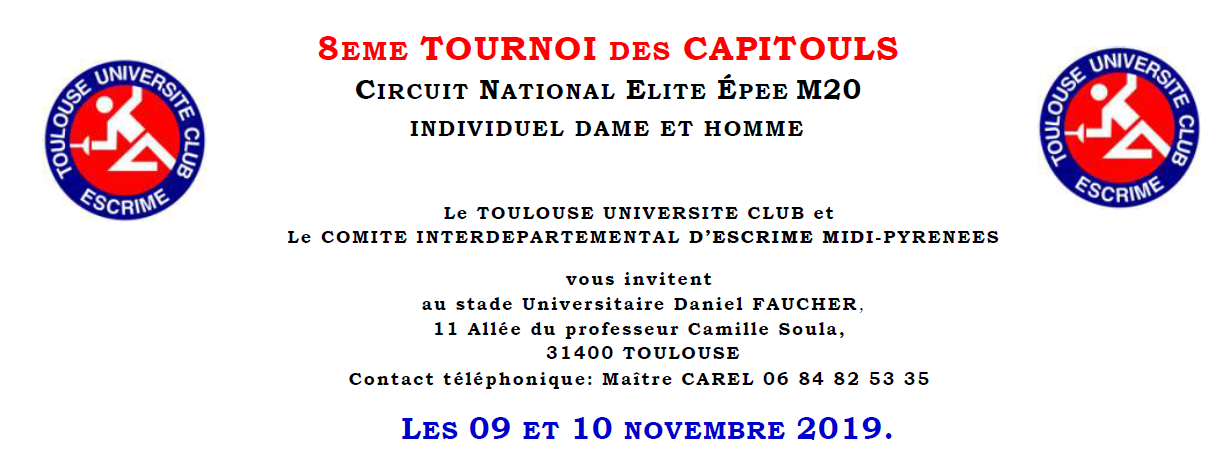 Circuit Epee Toulouse