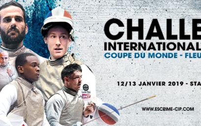 CIP 2019 – Coupe du Monde Fleuret Hommes à Paris (FRA)