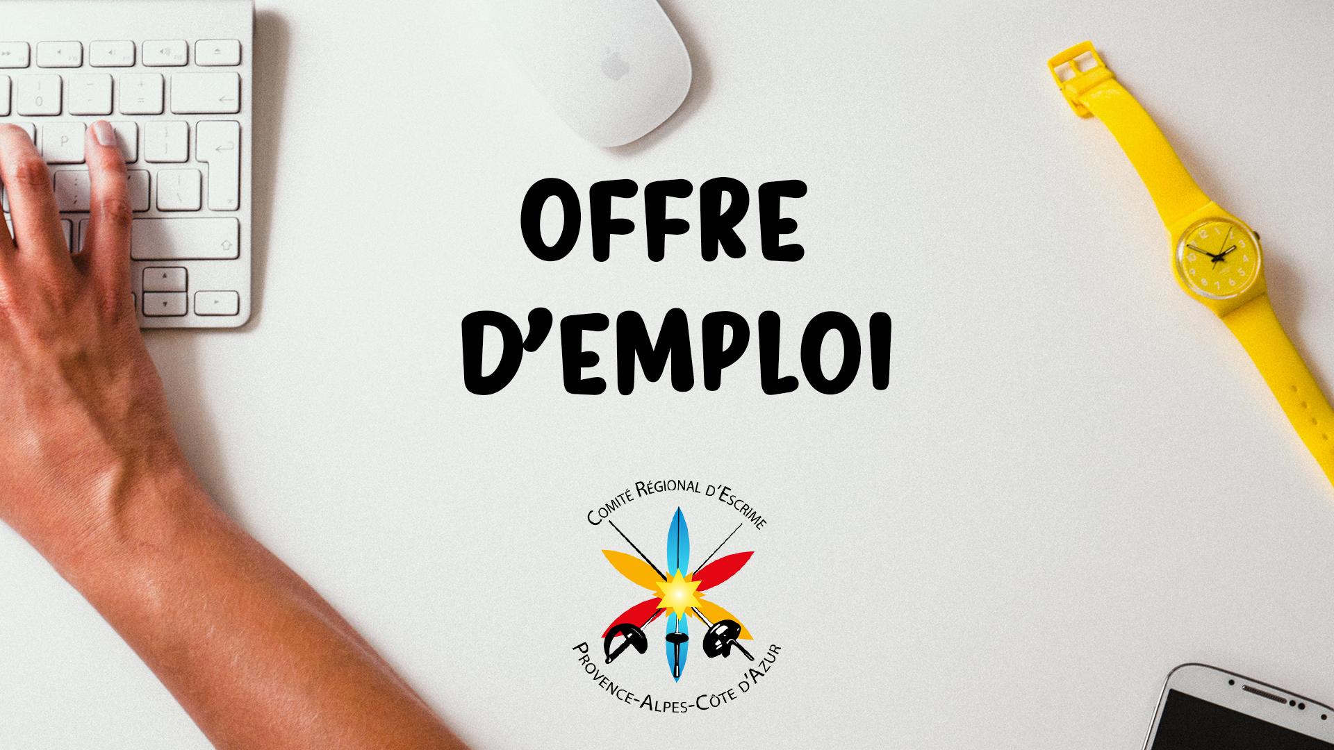 Offre d'emploi – Monteux (84)